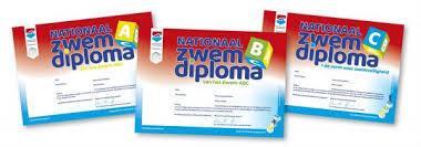 zwemles diploma zwemmen