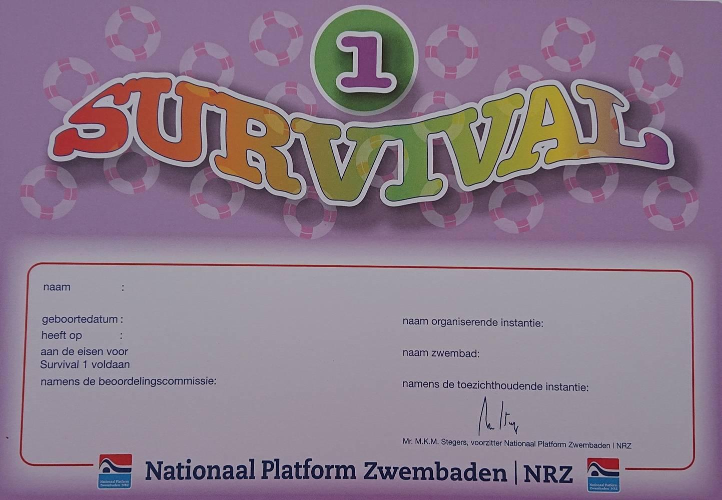 Survival diploma 1