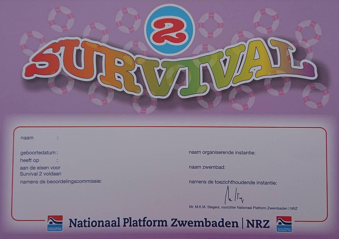 Survival diploma 2